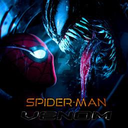 spiderman venom crossover freetoedit