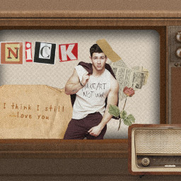 freetoedit vintage nickjonas fcstayinspired stayinspired createfromhome