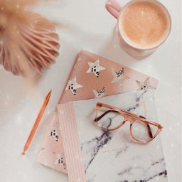 freetoedit coffeemug notebook glasses pen srcaestheticstars aestheticstars createfromhome stayinspired
