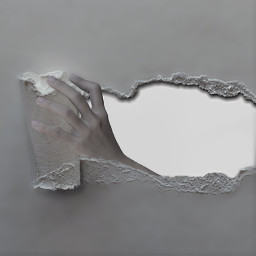 freetoedit ripped rippedpaper paper hand