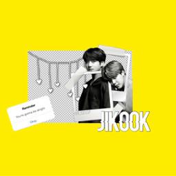 jikook bts yellow wallpapern desktop freetoedit ecdesktopwallpapers desktopwallpapers stayinspired