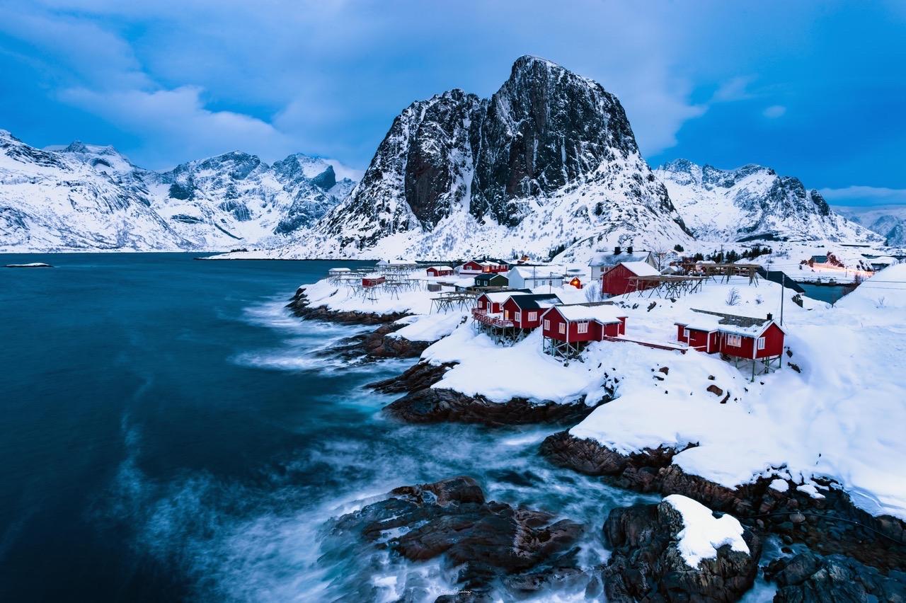 Hamnøy I Lofoten, Noruega #landscape #beach #nature #norway #northelights #aurorasborealis #lake #canadianrockies #river #lake #canadianrockie