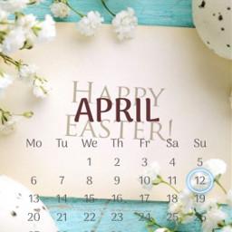 freetoedit aprilcalendar