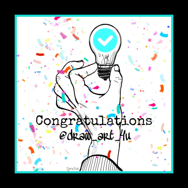 Congratulations @draw_art_4u on getting your VIP badge!  🥳  This user has an incredible talent for drawing. This is one of her drawings that I remixed for this edit. If you haven't been to her gallery then you need to check it out!  💜 #shoutout #friend #congrats #vip #recognition #celebration #artist #talent #drawing #myremix  @zanytaz @unibrow_queen  #freetoedit