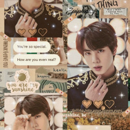 freetoedit kimseokjin jin worldwidehandsome aesthetic