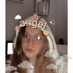 freetoedit aesthetic angel clouds soft