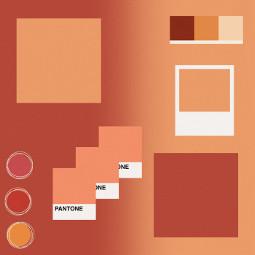 pasteltemplate orange template background pastel freetoedit