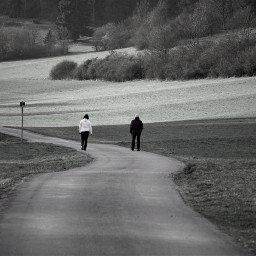 freetoedit blackandwhite people pathway myphotography