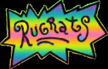 rugrats 90svibes nickelodeon rainbow colorful freetoedit
