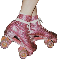 rollerskate 90s aesthetic retro party freetoedit