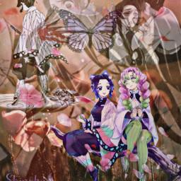 freetoedit shinobu demonslayer anime manga