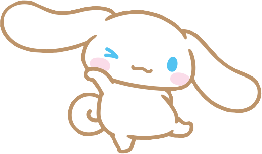 #cinnamon #cinnamoroll #dog #kawaii #cute #character #freetoedit