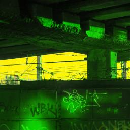 acid landscape station rust urban freetoedit