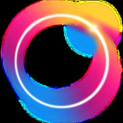 دائرة ملونة قوس_الله freetoedit