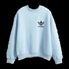 freetoedit sweaters sweater blue sweats