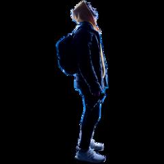 man boy standing alone freetoedit