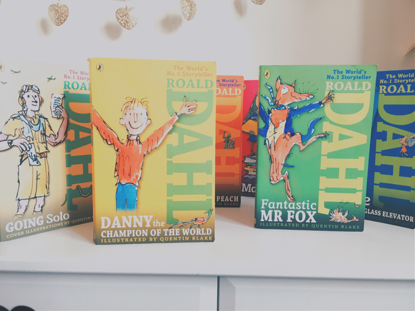 #roalddahl #lovehisbooks