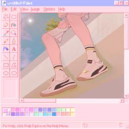 sticker nichememe anime computer aesthetic freetoedit