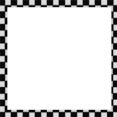 checkeredframe checkered frame whiteframe blackframe freetoedit