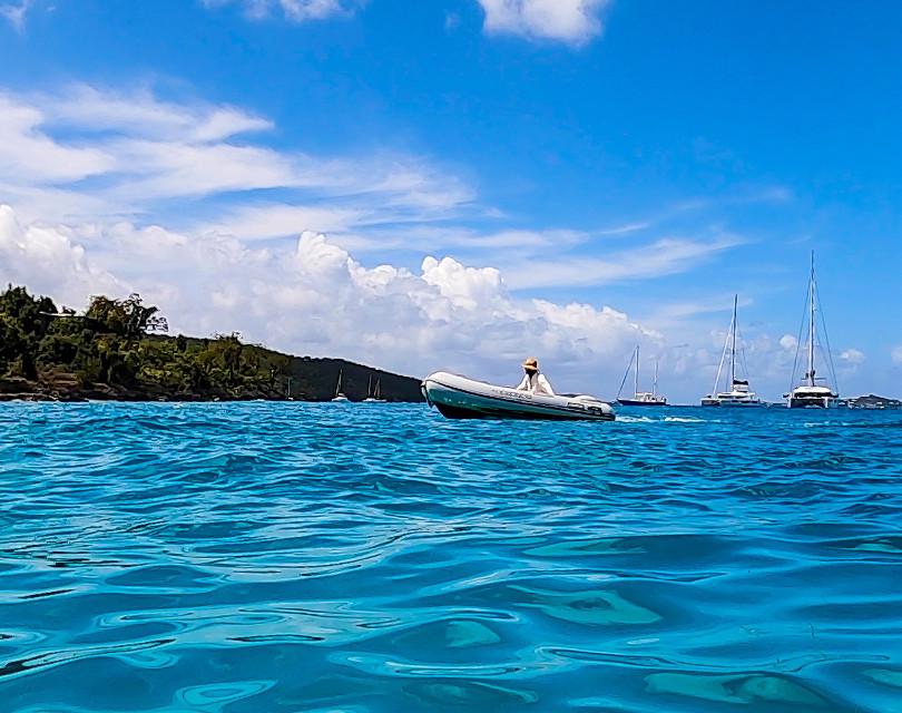 #boat #boating #boatlife #ocean #water #bluesky #blueskies #travel #freetoedit