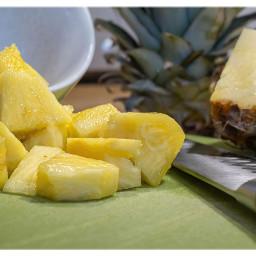 pineapple foodphotography closeup freetoedit