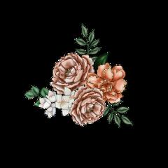 flowers roses floral bouqet arrangement freetoedit