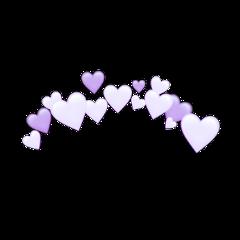 freetoedit purple heart purpleheart crown