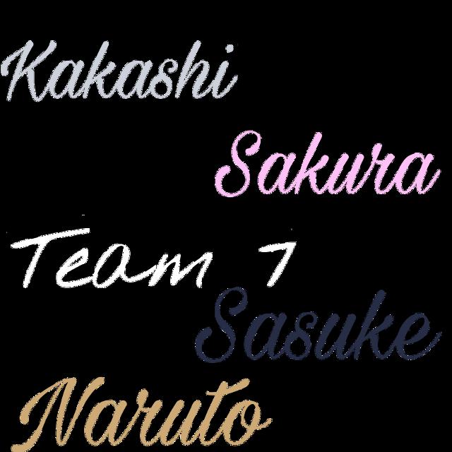 #naruto #team7 #kakashi #sakura #sasuke #anime #freetoedit
