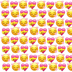 emoji hearts heart emojibackgrounds heartsbackground freetoedit