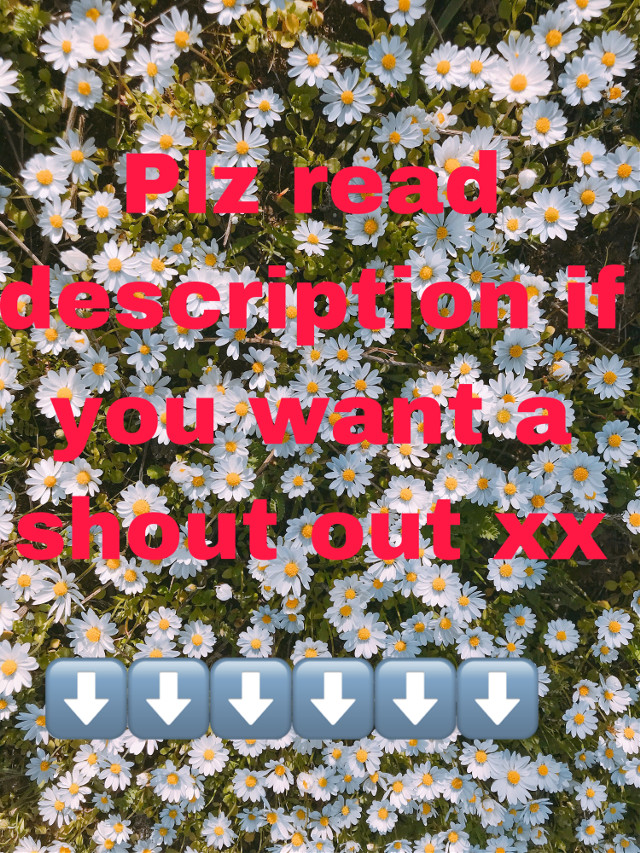 #freetoedit ok so if you would like a follow and a shout out follow these 3 steps: 1. Choose 3 of my stickers and use them all in one post  2. Tag me @rgharrod  3. Comment when you are done and wait for the follow/ shoutout  Xxx