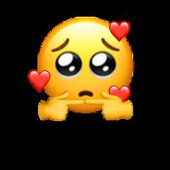 shy love inlove emoji emojiiphone freetoedit