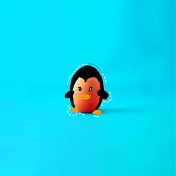freetoedit penguin cutepenguin kawaii cute irceggdecoration eggdecoration
