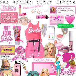 freetoedit barbie barbiegirl doll pink