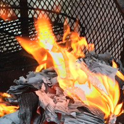 fire fires paper onfire aesthetic freetoedit