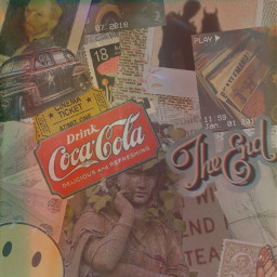 freetoedit collage vintage cococola ccvintageaesthetic vintageaesthetic