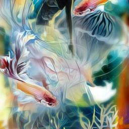 freetoedit plasticbag woman jellyfish coral dc
