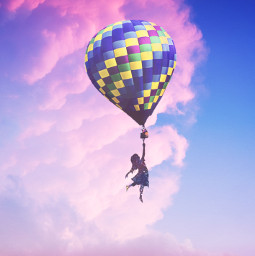 freetoedit createfromhome stayinspired ballon clouds