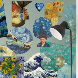 freetoedit vangoghstyle ecwalldecorations walldecorations