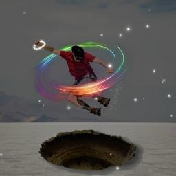 freetoedit jump man boy effect