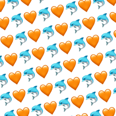 emojibackground background backgrounds backgroud dolphin freetoedit