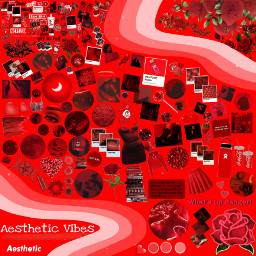 freetoedit red aesthetic vibes aestheticvibes