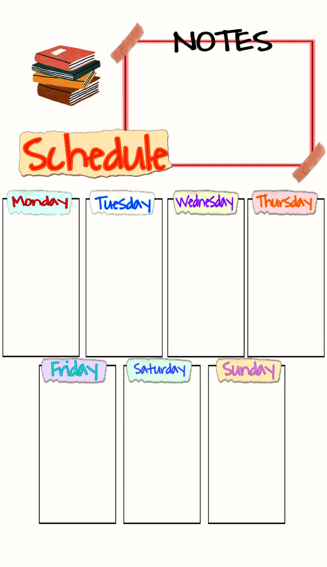 #freetoedit #study #hoctap #timetable #schedule  Save or print... study-hard... Fighting 😊😊