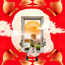 egg yolk surreal doorway freetoedit irceggdecoration eggdecoration