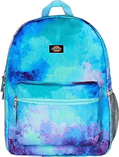 dickies backpack mermaid watercolor blue school freetoedit