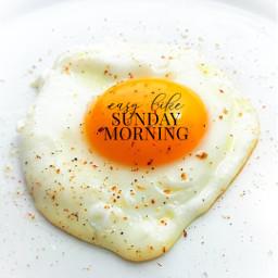 sundaymorning egg sunnysideup freetoedit