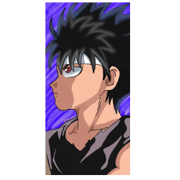 freetoedit hiei yuyuhakusho anime animes