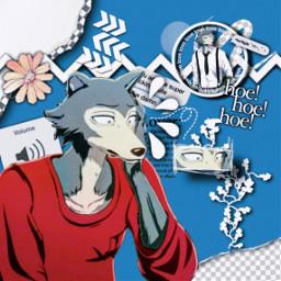 freetoedit beastars anime animeedit legosi