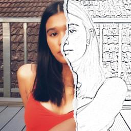 freetoedit sketcheffect potrait