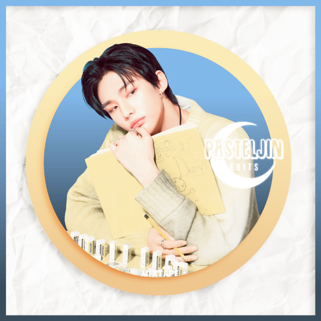 """💙💛  🌸CHECK OUT MY INSTAGRAM FOR MORE EDITS 🌸CHECK OUT MY YOUTUBE FOR THE PROCESS!!    ✭  ┆  ┆  ┆  ┆  ✭   🌙 R E Q U E S T S A R E C L O S E D   ✭  ┆  ┆Hyunjin requested by @httpsaesthetic_   ┆I hope you like it~!!💓🌸  ┆  ✭   🌙 """" тαкє тιмє тσ ∂σ ωнαт мαкєѕ уσυя ѕσυℓ нαρρу """"  🄲🅁🄴🄳🄸🅃🅂 ➥ Hyunjin Sticker © pasteljin (me) ➥ Paper Texture © Google Images  🅃🄰🄶🅂 #hyunjin #straykids #straykidshyunjin #kpopedit #pasteljin #freetoedit"""