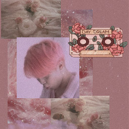 pink aesthetic parkjimin bts wallpaper freetoedit